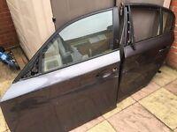 Bmw 1 Series E87 Passenger Side & Front Rear Door Sparkling Graphite 2004-07 5 door XVE (Damaged)