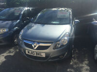 Vauxhall Corsa 1.2 Petrol Manual 3 Door Hatchback 2010 Silver Fantastic Car Bargain