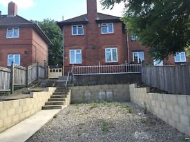 Two bedroom semi detached house for rent furnished