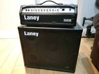 Laney bass head and cab