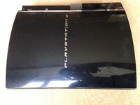 Broken Playstation 3   Dualshock Controller   Power cable   selling for parts