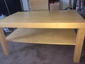 Ikea Lack birch or beech effect coffee table FREE