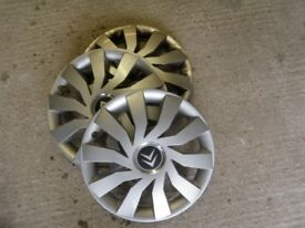 Citreon C1 wheel trims, hubcaps. Free