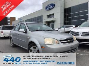 2005 Chevrolet Optra | AIR CLIMATISÉ, TRÈS BAS KILOMÉTRAGE
