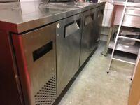 Commercial 3 door freezer - excellent condition - Atosa YPF9047