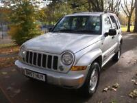 JEEP CHEROKEE 2.8 CRD Sport 5dr FULL SERVICE HISTORY = LOW INSURANCE AND LOW TAX (silver) 2007