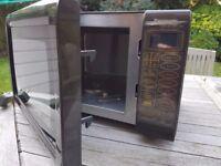 Panasonic Microwave - Grill function - immaculate interior - dark brown - w.51cm x h.30cm x d.33cm
