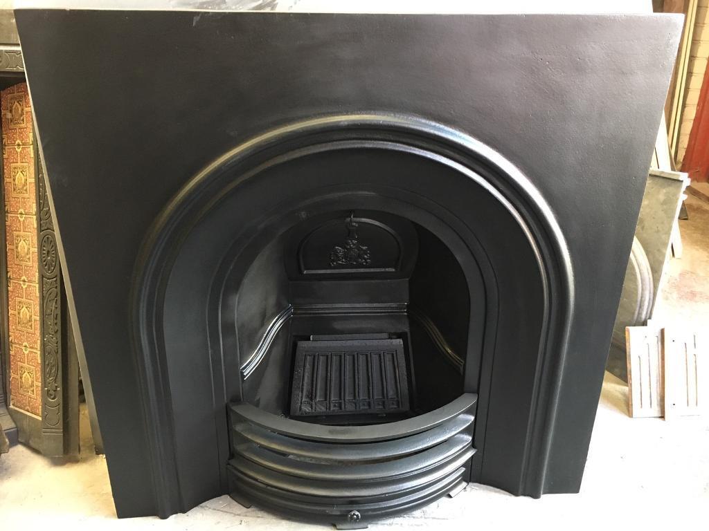 period cast iron insert fireplace surround in edinburgh gumtree