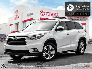 2015 Toyota Highlander Limited 4wd+Leather+Navigation