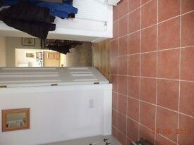 27 floor tiles, terracotta 30cm x 30cm. And 9 slate grey tiles 30cm x 30cm