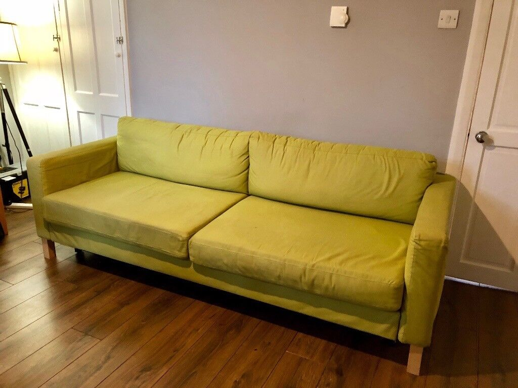 Ikea Karlstad 3 Seater Sofa Bed Very Easy To Use And