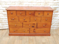 Merchant Large Chunky Chest of Drawers Lacquered (Delivery)