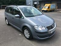 EXCELLENT 7 SEATER 2009 VW TOURAN 1.9TDI S,DRIVES SUPERB,FULL SERVICE HISTORY,2 OWNERS,LONG MOT