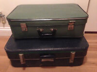 Vintage suitcases - Two suitcases £35ono