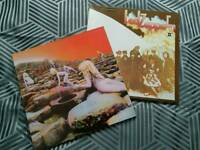 Led Zeppelin II and Houses Of The Holy Original Pressings.