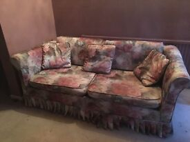 Sofa bed with mattress in good working order