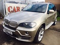 BMW X5 2008 DIESEL AUTOMATIC M SPORT KIT PANORAMIC LEATHER SATNAV