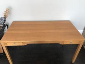 Desk, dresser and chairs