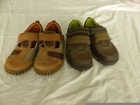Two new pairs of Hush Puppies shoes in UK size 8 & 9