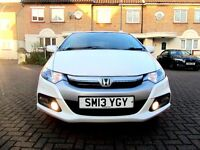 HONDA INSIGHT 1.3 HX HYBRID AUTOMATIC 5 DOOR HATCHBACK 1 OWNER FSH HPI CLEAR EXCELLENT CONDITION