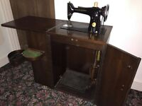 1948 Singer 201K sewing machine in cabinet. Full working order. Very good condition.