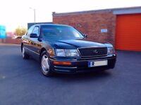 Lexus LS400, 4.0 V8, Auto. Fully Loaded, 1997 R Reg, 159K with FULL SERVICE HISTORY & LONG MOT gs300