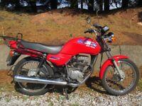 Honda CG 125cc 11months MOT Ready to Ride