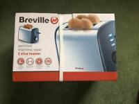 Breville 2 slice toaster- NEW