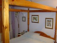 Wooden Four Poster Double Bed frame
