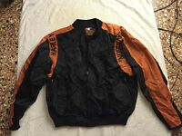 "Harley-Davidson Nylon Bar and Shield ""Bomber"" Jacket"