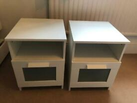 2x IKEA side tables