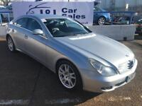 MERCEDES-BENZ CLS CLASS 3.0 CLS320 CDI 4d AUTO 222 BHP A GREAT EXAMPLE INSIDE AND OUT (silver) 2007