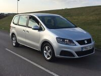 2012 62reg Seat Alhambra 2.0 TDi Ecomotive 5dr diesel silver****ONE OWNER**CHEAPEST ON NET