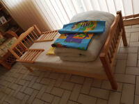 Junior Bed as new by Saplings