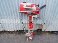 suzuki 4hp outboard engine spares or repairs