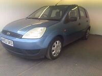 2002   Ford Fiesta 1.3 Finesse 5 dr   1 FORMER KEEPER   1 YEAR MOT   SERVICE HISTORY   HPI CLEAR