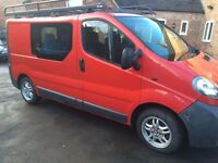 Vauxhall Vivaro 1.9 6 gears 5 seats 12 months mot full service history used as family weekend van