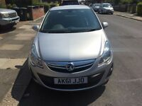 VAUXHALL CORSA 2011 AUTOMATIC WITH FULL DEALER SERVICE HISTORY 2 KEYS AND 45000 MILES ONLY HPI CLEAR