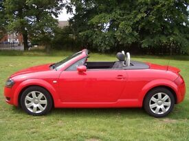 Stunning low mileage Audi TT Convertible