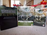 Band of Brothers AND The Pacific DVD box sets