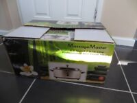 New, boxed massage hot stone heater 6.5 quart
