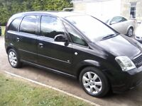 VAUXHALL MERIVA 1-4 BREEZE 16v 5-DOOR MPV 2005. 84,000 MILES, 1 PREVIOUS OWNER, NEEDS ATTENTION.