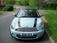 Mini Cooper 1.6 TD Avenue, chilli pack