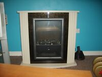 Electric Fire in good condition Flame Effect