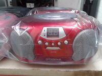 Groov-e Boombox CD Player/Radio