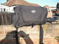 For Sale Harley Davidson screen & Bag in good condition