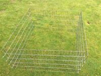 METAL PET ENCLOSURE / PLAY PEN AREA - Garden or indoors; folds/ easy to store