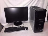 Dell XPS Gaming Computer PC Complete Setup with 24 inch Monitor