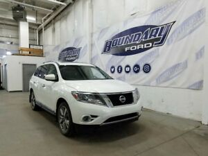 2014 Nissan Pathfinder Platinum W/ Leather, DVD, Sunroof, 4WD