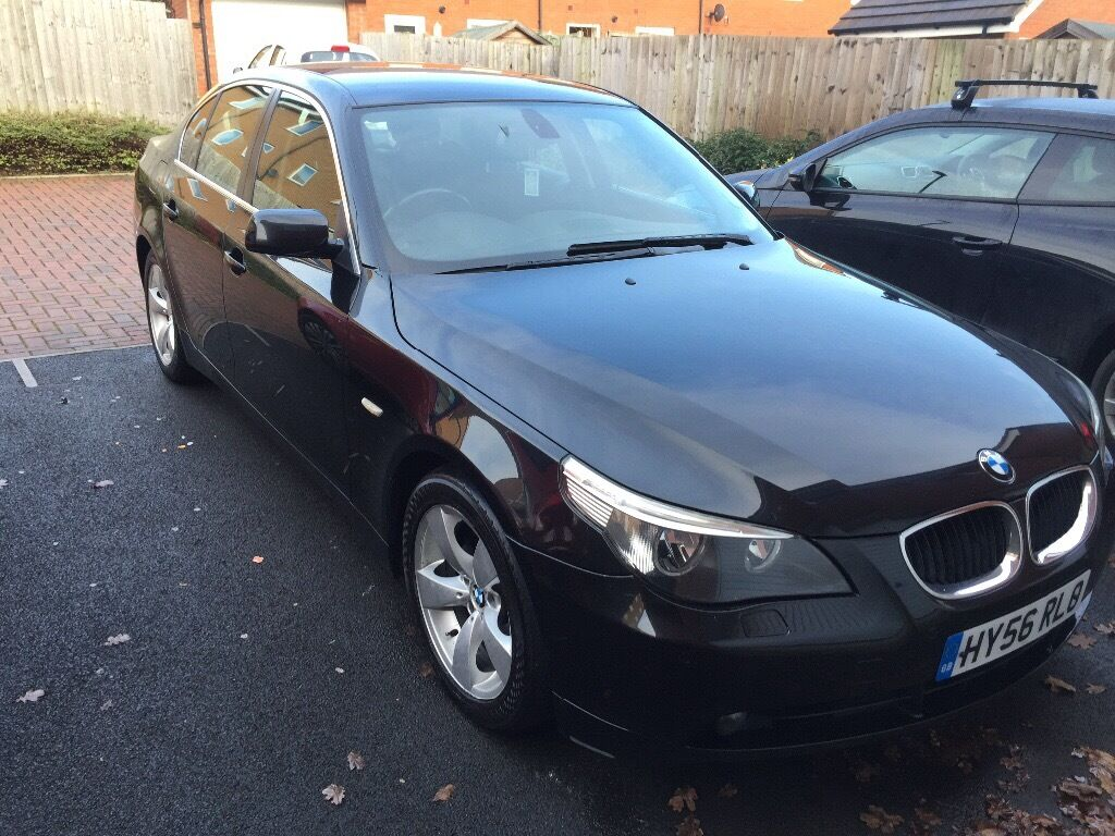 beautiful black bmw 5 series 2006 520 diesel reduced for quick sale in patchway bristol. Black Bedroom Furniture Sets. Home Design Ideas